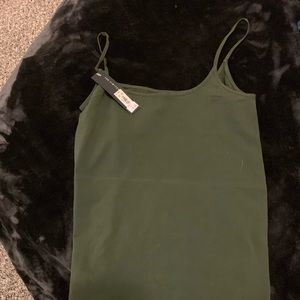 New with tags olive green the limited dressy tank